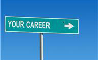 """road sign with the words """"Your Career"""""""