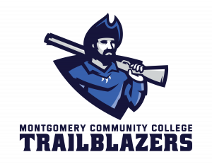 Montgomery Community College Trailblazers Mascot Logo